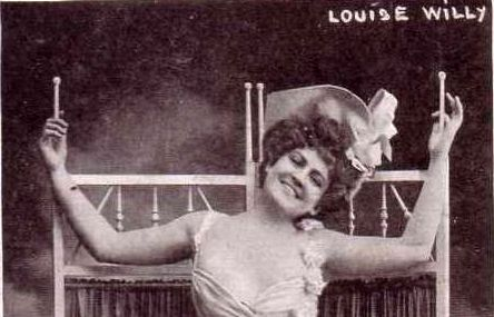 Louise Willy, el primer striptease de la historia