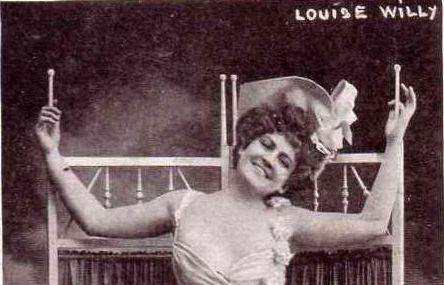 Louise Willy, el primer striptease de la historia