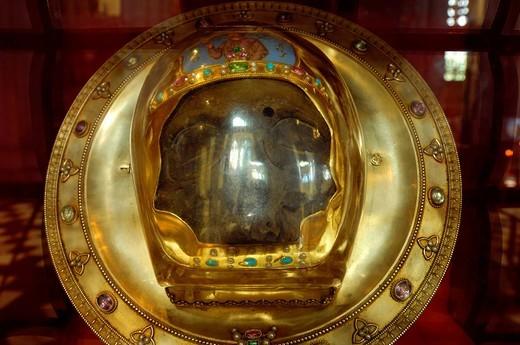 Una cabeza de San Juan Bautista