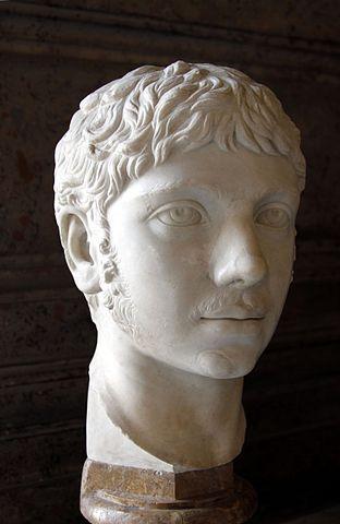 Busto de Heliogábalo, aquí iba sin depilar