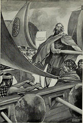 Ilustración sobre los Milesianos de J.C. Leyendecker