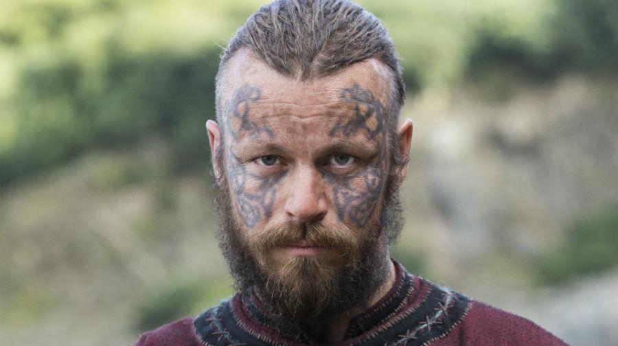 Harald Cabellera Hermosa sale en la serie de TV de Vikingos
