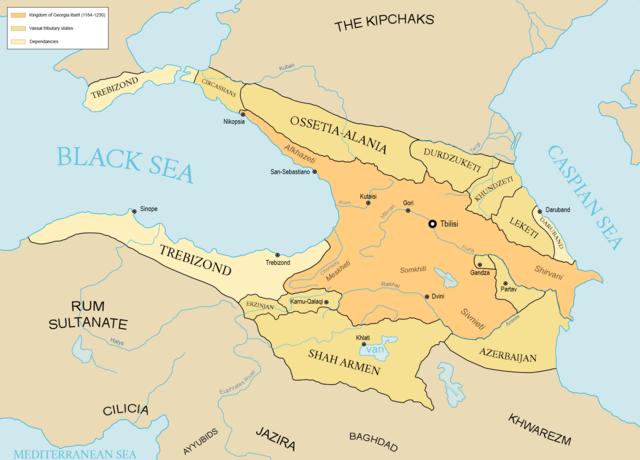 El reino de Georgia en los tiempos de Tamar
