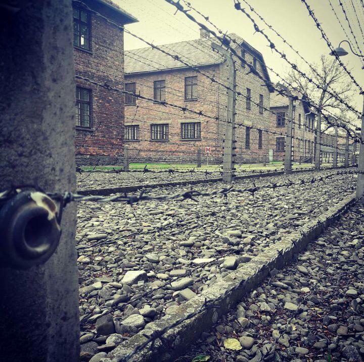 Campo de concentracion auschwitz. Imagen propia