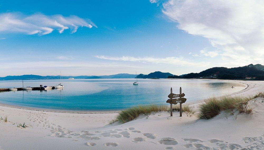 Playa de Rodas, Imagen de Mar de Ons