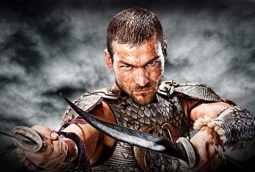 El tristemente fallecido Andy Whitfield de la serie Spartacus de Starz