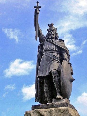 Estatua de Alfredo el Grande