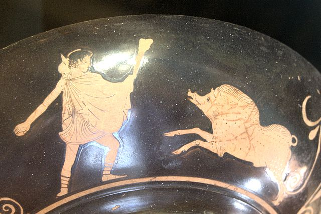 Teseo y la Cerda de Cromión