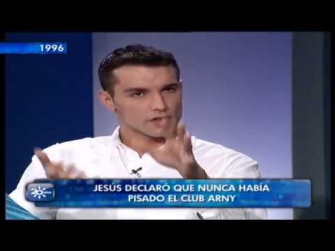 Jesús Vázquez en una entrevista en la época