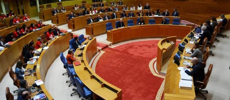 El parlamento gallego el pasado Martes