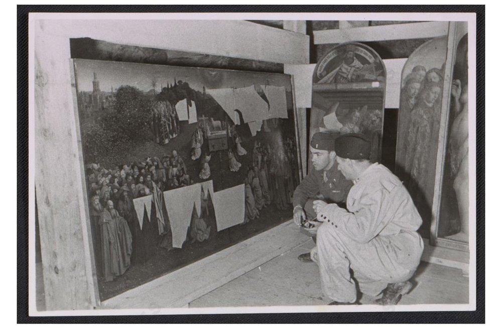 El retablo La Adoración del cordero místico de Jan Van Eyck