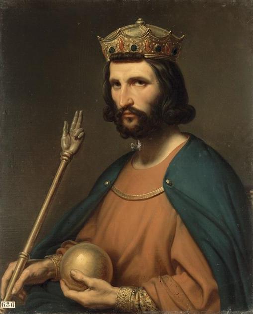 Cuadro de Hugo Capeto, hecho a petición de Luis Felipe I, el último rey