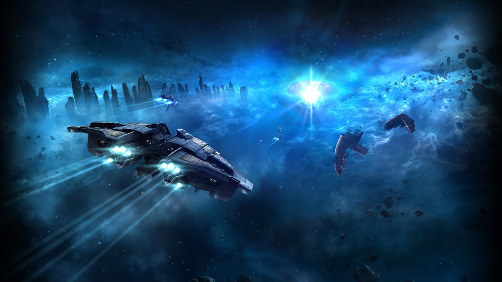 Eve Online - Épicas batallas en el espacio exterior