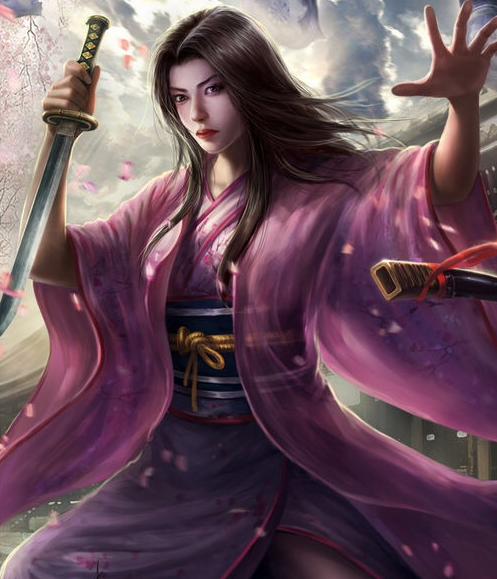 Representación de Chiyome Mochizuki en Assasin's Creed