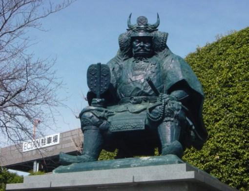 Estatua de Takeda Shingen