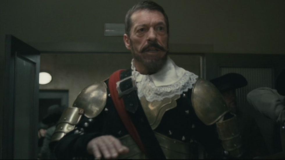 Ramón Langa como Spínola en el Ministerio del Tiempo
