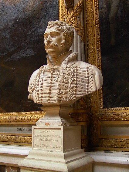 Busto de Lasalle en Versalles, foto de n apoleon-monuments.eu