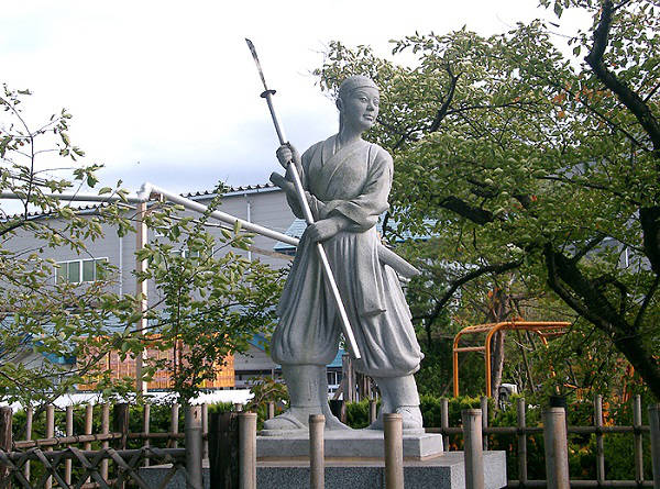 Estatua de Nakano Takeno
