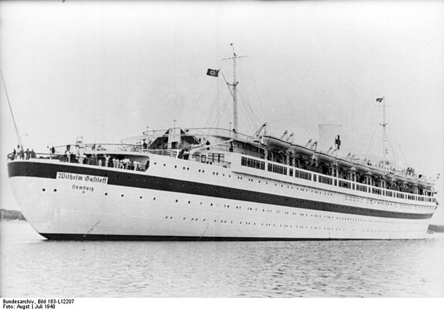El Wilhelm Gustloff como Barco hospital