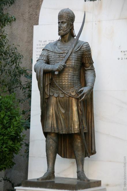 Estatua de Constantino XI