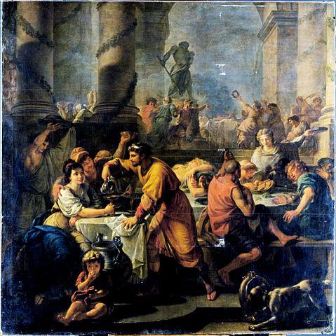 Saturnalia de Antoine Callet