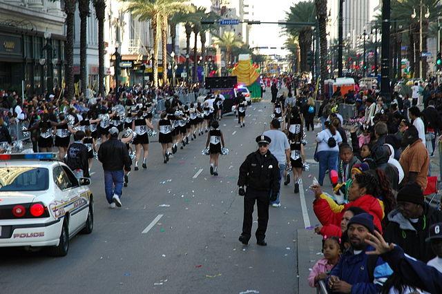 El Mardi Gras de Nueva Orleans