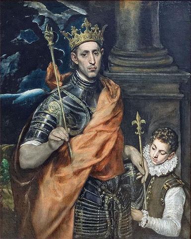 San Luis por el Greco