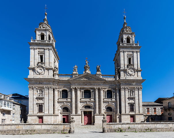 La Catedral de Lugo en la actualidad, foto de Diego Delso