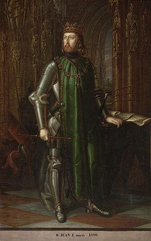 Retrato de Juan I de Castilla