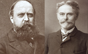 Marsh (izquierda) y Cope (derecha)