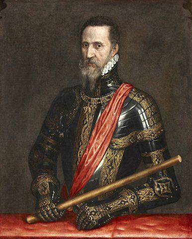 Fernando Álvarez de Toledo y Pimentel , el duque de Alba