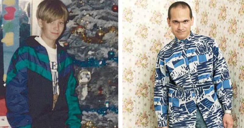 Nicholas Barclay y Frédéric Bourdin (aquí ya es mucho mayor que en el momento del engaño)