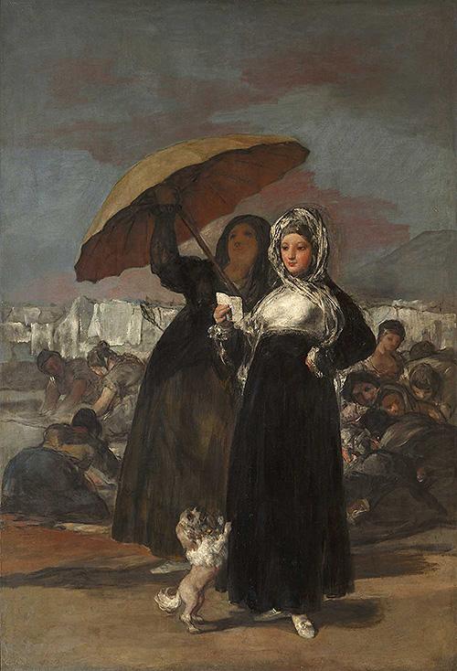 Las Jóvenes de Goya