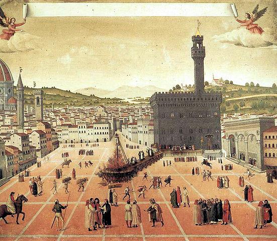 Ejecución de Savonarola