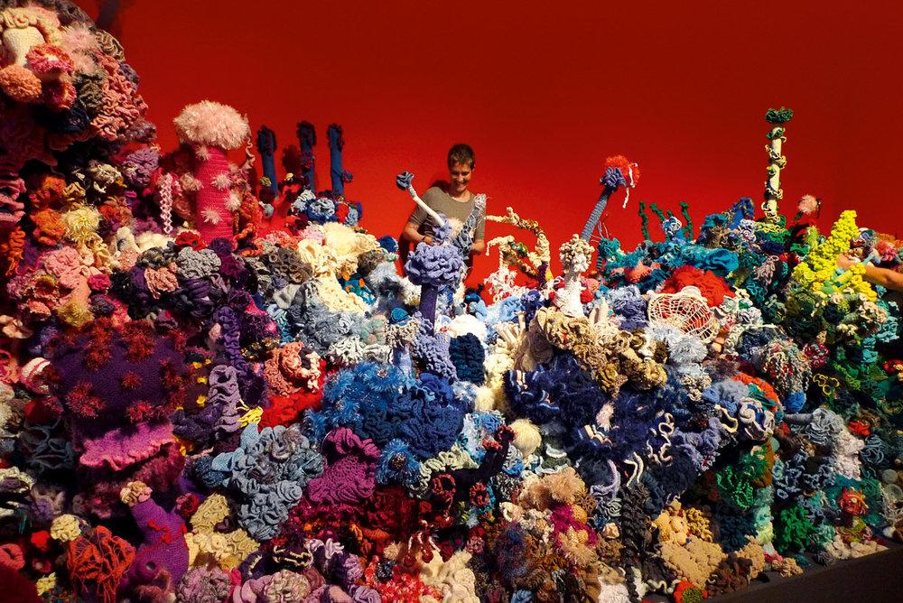 Sí esto es un arrecife de crochet