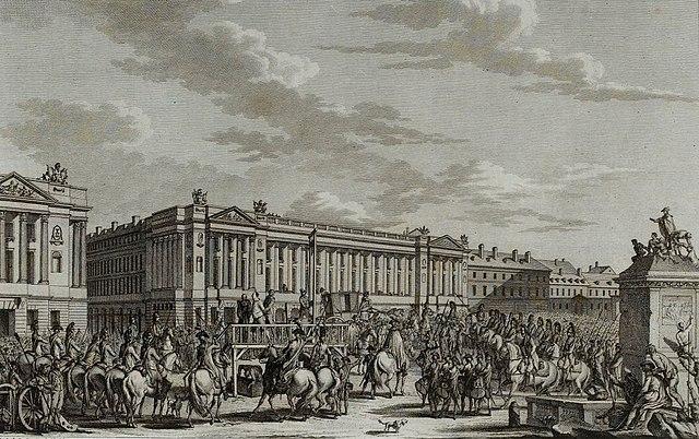 La ejecución de Luis XVI