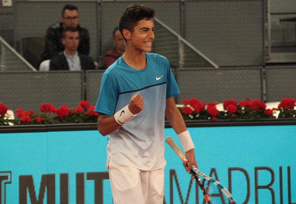 Nicolás Álvarez Varona, 17 años, nacido en Burgos. Su paso por Roland Garros jr 2018 ha ilusionado a la prensa, que le augura un gran futuro.
