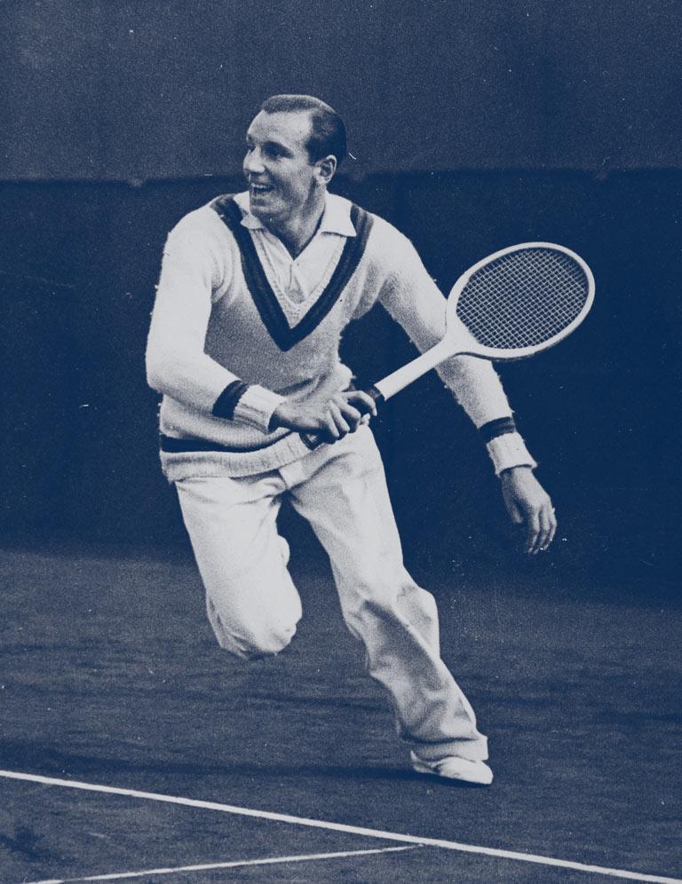 Fred fue rechazado por los circuitos de tenis tan clasistas de la época debido a sus orígenes humildes. Aún así, se le consideraba el jugador mejor vestido... y un playboy.