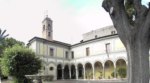 San Onofre en el Janículo, lugar actual de la sede de la Orden