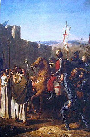 Pintura de Balduino I de Jerusalén