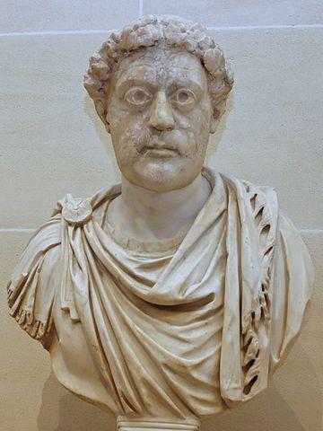 Busto de León I, en el Louvre