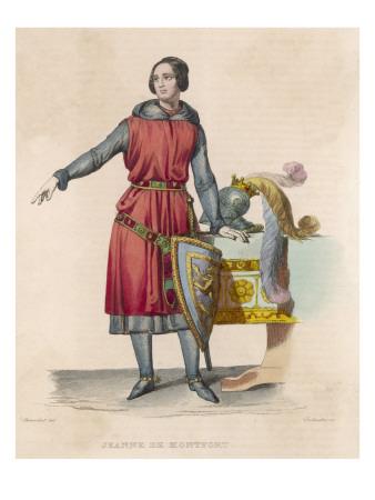 Imagen de Juana con armadura