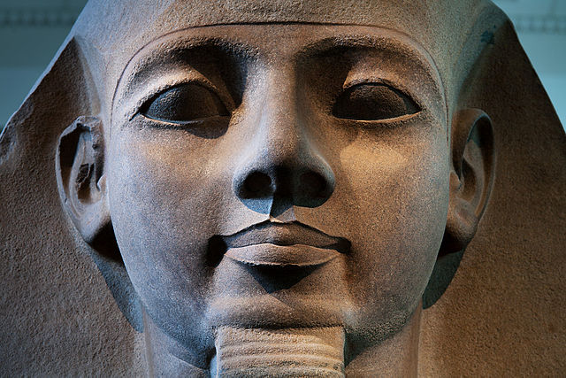 Rostro del Ramses II