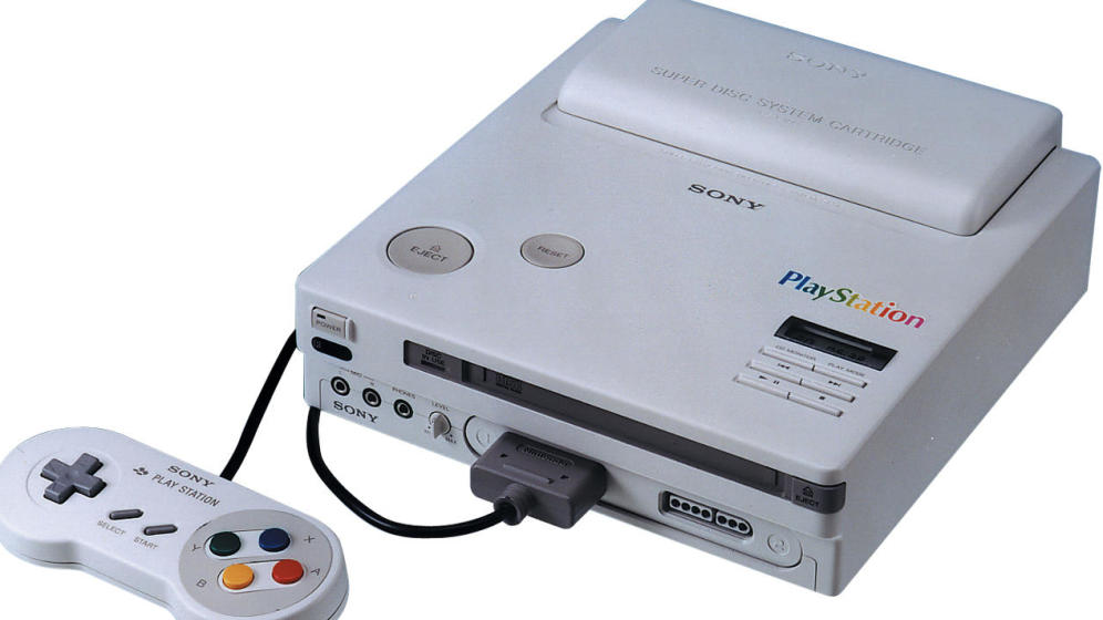 Este podría haber sido el aspecto de la Nintendo Playstation.