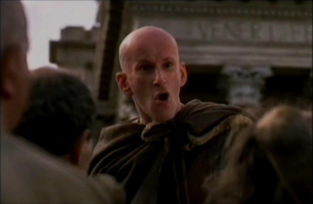 El personaje de Milón en la serie de HBO, Roma