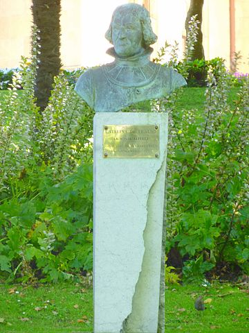 Estatua de Catalina en San Sebastián