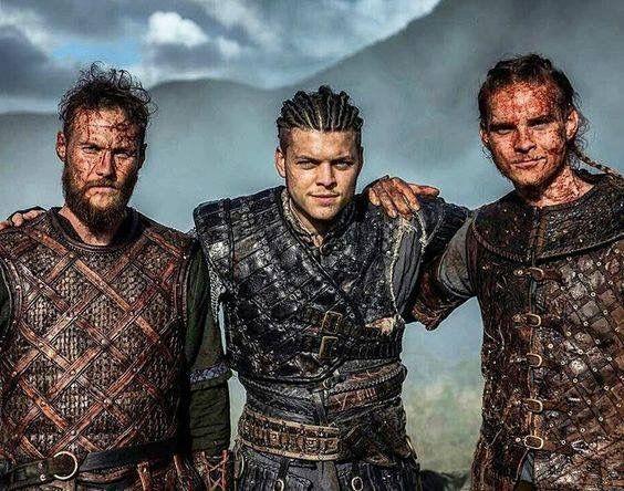 Los Ragnarsson en la serie Vikingos