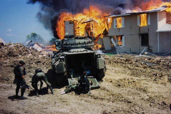 Los tanques del FBI
