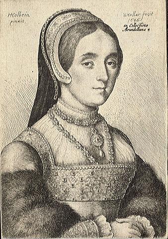 Retrato de Catalina Howard de Wenceslas Hollar