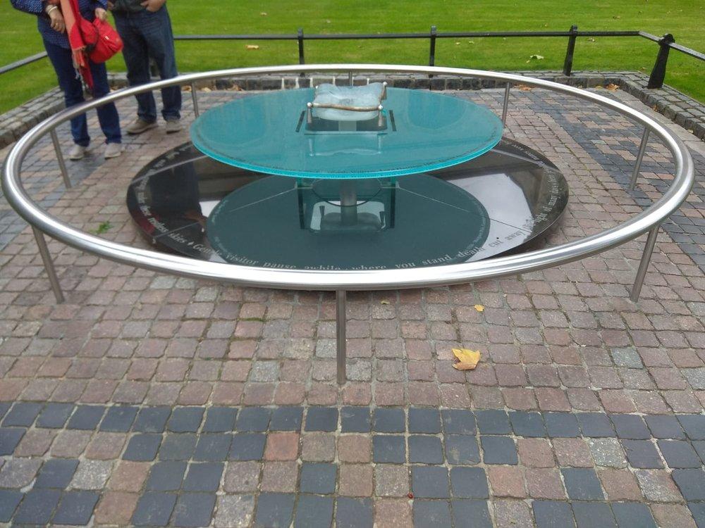 El monumento a los ejecutados en la Torre de Londres